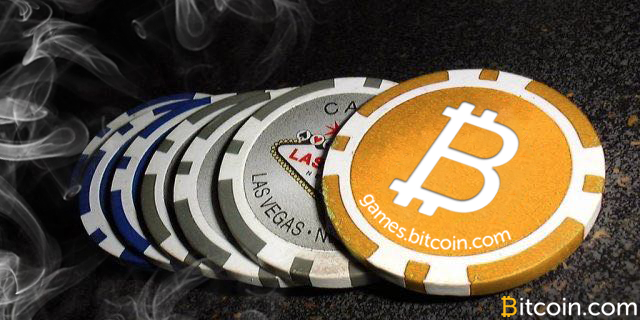 Spille bitcoin sporene på telefonen