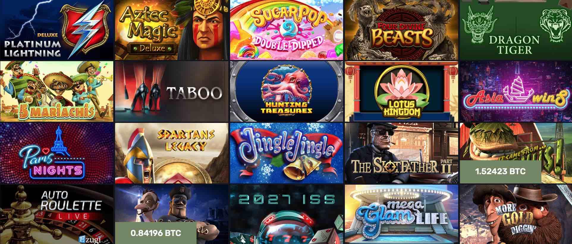 Online bitcoin casino med beste bonuser